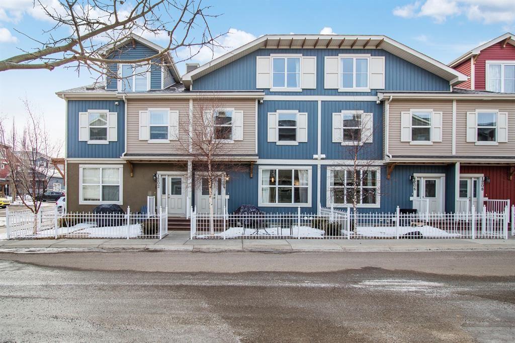 Main Photo: 1204 10 AUBURN BAY Avenue SE in Calgary: Auburn Bay Row/Townhouse for sale : MLS®# A1065411