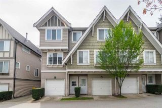 "Photo 1: 74 8775 161 Street in Surrey: Fleetwood Tynehead Townhouse for sale in ""Ballentyne"" : MLS®# R2387297"