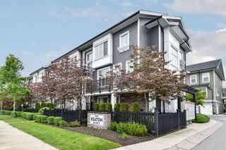 "Photo 1: 76 7686 209 Street in Langley: Willoughby Heights Townhouse for sale in ""KEATON"" : MLS®# R2458302"