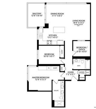 """Photo 15: 505 125 MILROSS Avenue in Vancouver: Downtown VE Condo for sale in """"CREEKSIDE"""" (Vancouver East)  : MLS®# R2567212"""