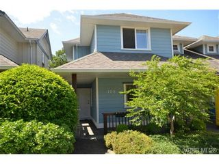 Photo 1: 108 951 Goldstream Ave in VICTORIA: La Langford Proper Row/Townhouse for sale (Langford)  : MLS®# 672174
