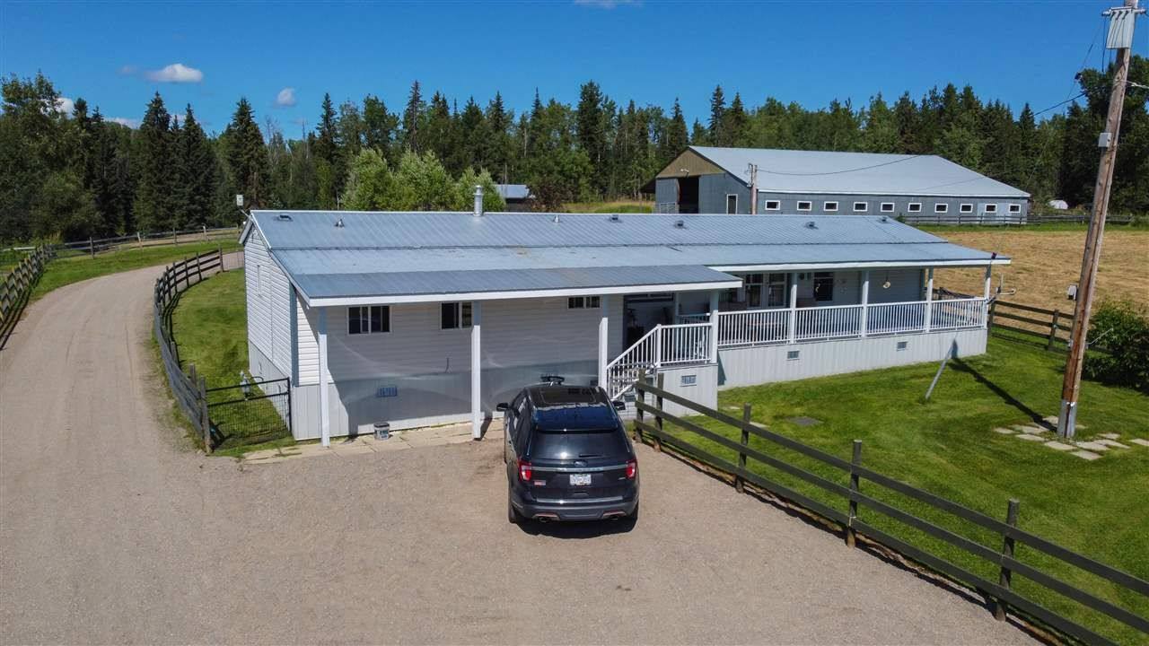 Main Photo: 9040 SALMON VALLEY Road in Prince George: Salmon Valley Manufactured Home for sale (PG Rural North (Zone 76))  : MLS®# R2484127