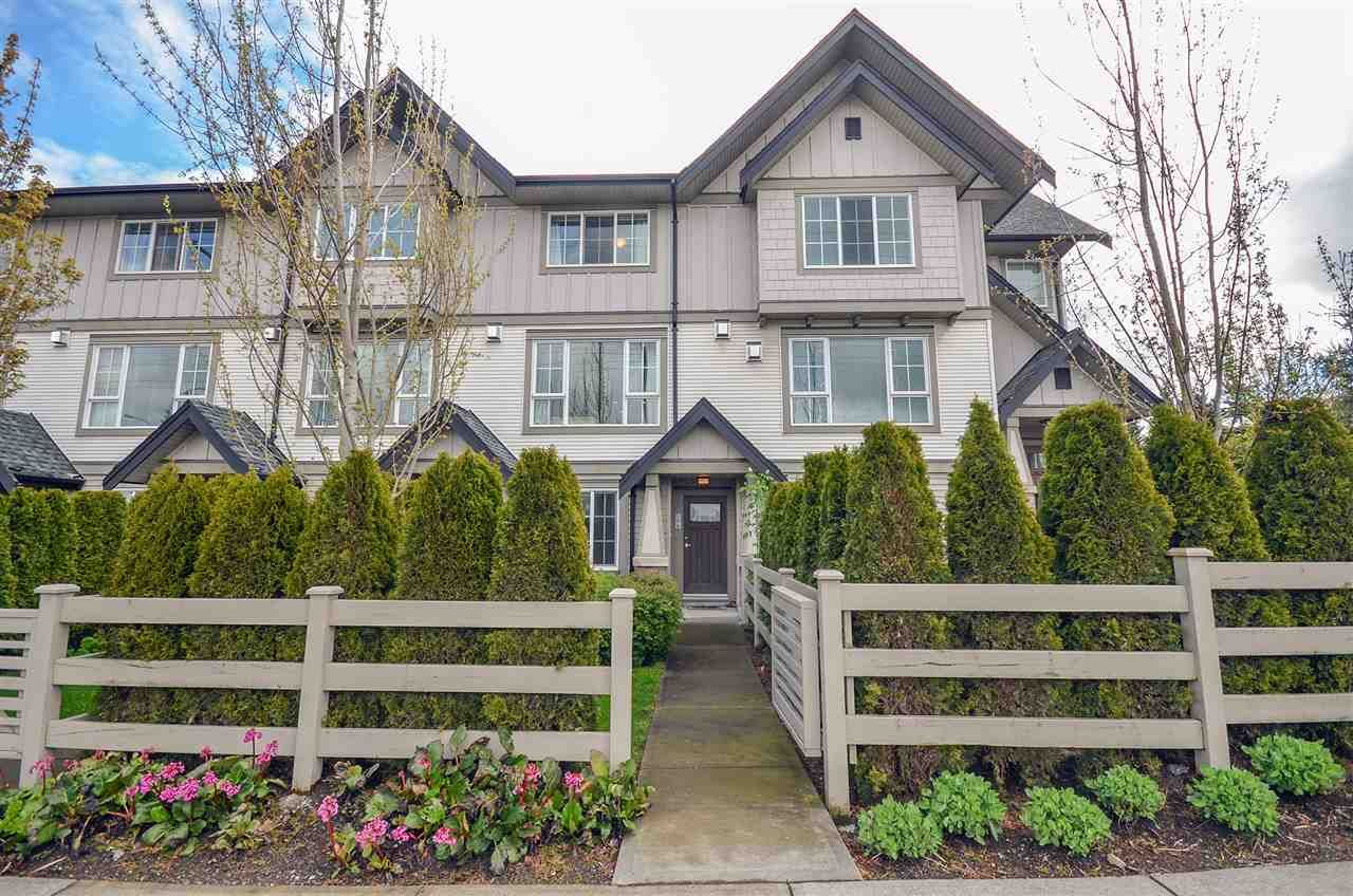 "Main Photo: 196 2501 161A Street in Surrey: Grandview Surrey Townhouse for sale in ""HIGHLAND PARK"" (South Surrey White Rock)  : MLS®# R2159358"