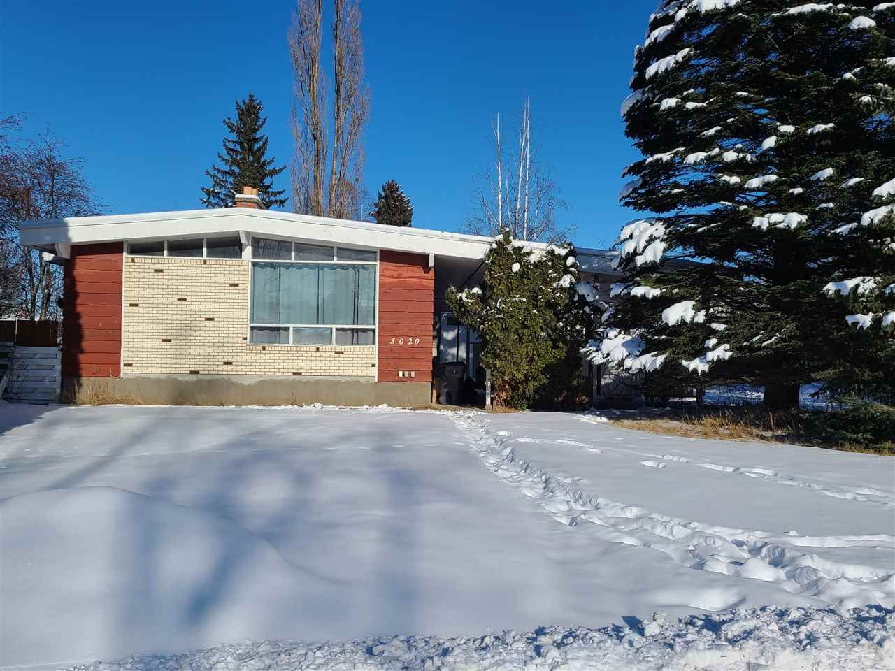 Main Photo: 3020 19TH Avenue in Prince George: Seymour House for sale (PG City Central (Zone 72))  : MLS®# R2537369