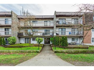 """Photo 1: 108 33850 FERN Street in Abbotsford: Central Abbotsford Condo for sale in """"Fernwood Manor"""" : MLS®# R2430522"""