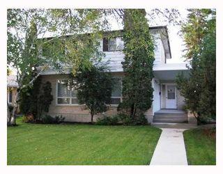 Photo 1: 813 LANARK Street in WINNIPEG: River Heights / Tuxedo / Linden Woods Residential for sale (South Winnipeg)  : MLS®# 2818652
