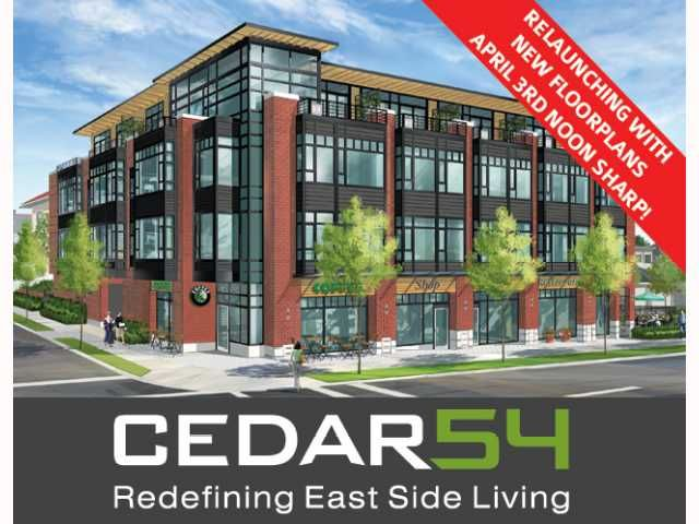 """Main Photo: 310 2008 E 54TH Avenue in Vancouver: Fraserview VE Condo for sale in """"CEDAR54"""" (Vancouver East)  : MLS®# V819372"""