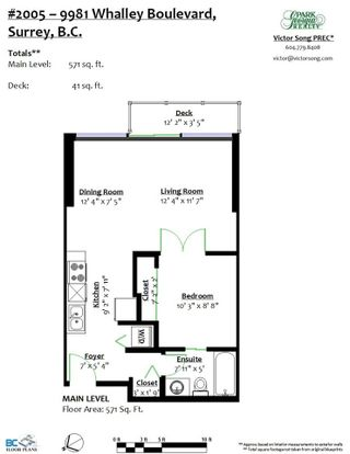 """Photo 17: 2005 9981 WHALLEY Boulevard in Surrey: Whalley Condo for sale in """"PARK PLACE 2"""" (North Surrey)  : MLS®# R2385178"""