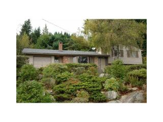 Photo 1: 498 CRAIGMOHR Drive in West Vancouver: Glenmore House for sale : MLS®# V872678