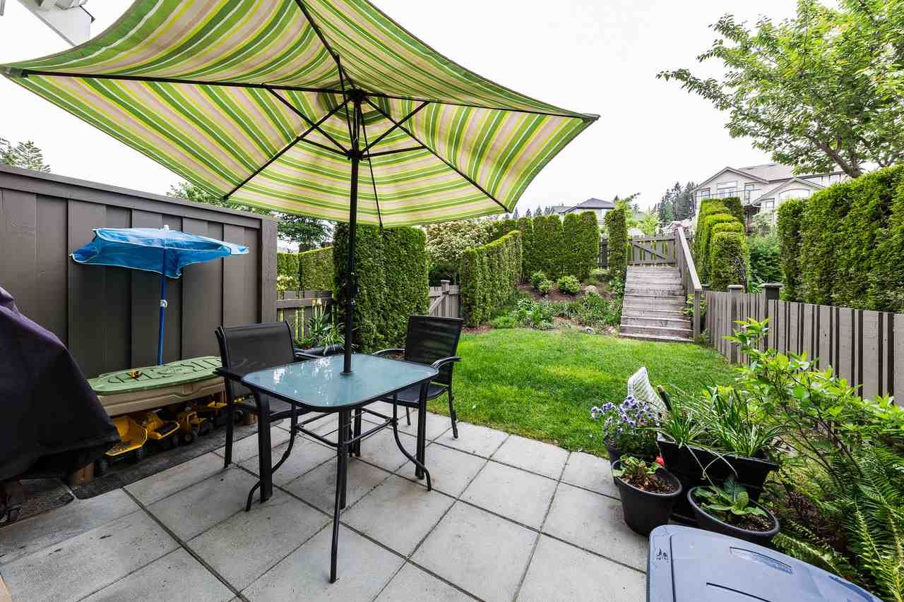 """Main Photo: 7 1305 SOBALL Street in Coquitlam: Burke Mountain Townhouse for sale in """"Tyneridge North"""" : MLS®# R2285552"""