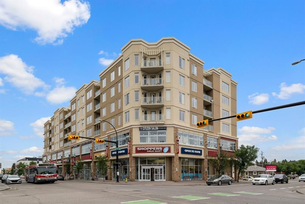 Main Photo: 613 3410 20 Street SW in Calgary: South Calgary Apartment for sale : MLS®# A1127573
