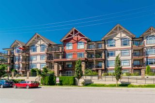 """Photo 1: 408 19939 55A Avenue in Langley: Langley City Condo for sale in """"Madison Crossing"""" : MLS®# R2250856"""