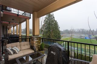 """Photo 18: 316 8328 207A Street in Langley: Willoughby Heights Condo for sale in """"Yorkson Creek Park"""" : MLS®# R2150359"""