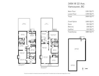 Photo 20: 3494 W 22ND Avenue in Vancouver: Dunbar House for sale (Vancouver West)  : MLS®# R2430576