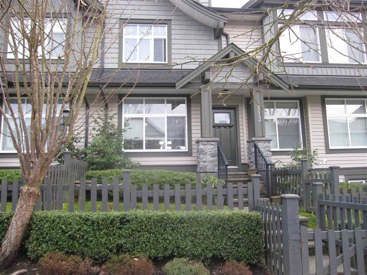 Main Photo: 113 13819 232 Street in Maple Ridge: Silver Valley Townhouse for sale : MLS®# R2545579