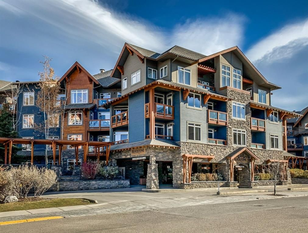 Main Photo: 407 170 Kananaskis Way: Canmore Apartment for sale : MLS®# A1096441