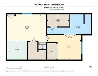 Photo 43: 16529 134 Street in Edmonton: Zone 27 House Half Duplex for sale : MLS®# E4239330