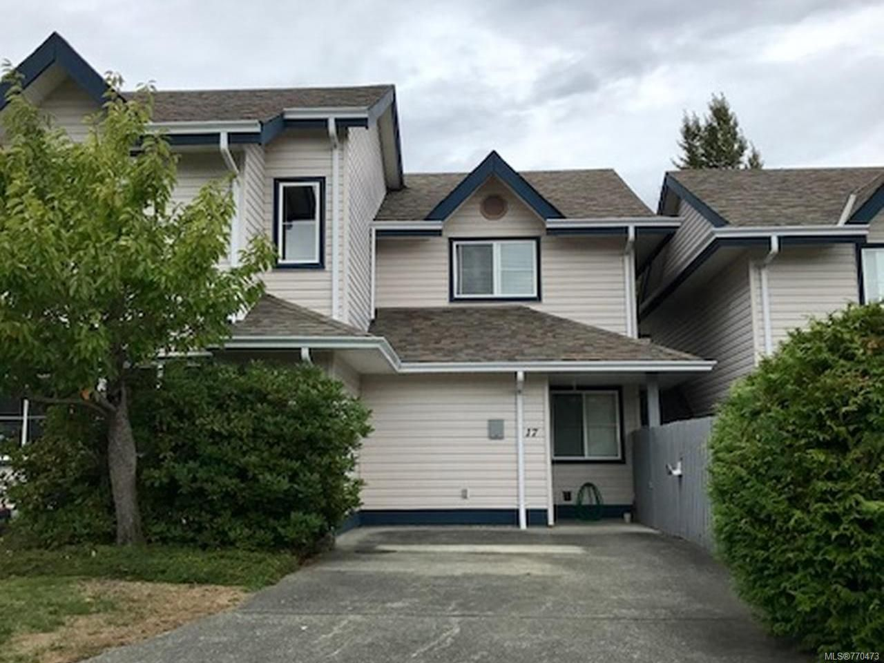 Main Photo: 17 1335 Creekside Way in CAMPBELL RIVER: CR Willow Point Row/Townhouse for sale (Campbell River)  : MLS®# 770473