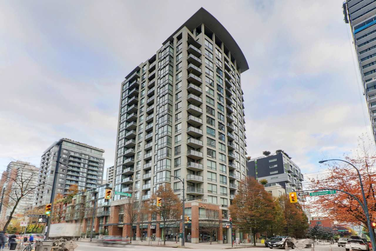"Main Photo: 810 1082 SEYMOUR Street in Vancouver: Downtown VW Condo for sale in ""FREESIA"" (Vancouver West)  : MLS®# R2512604"