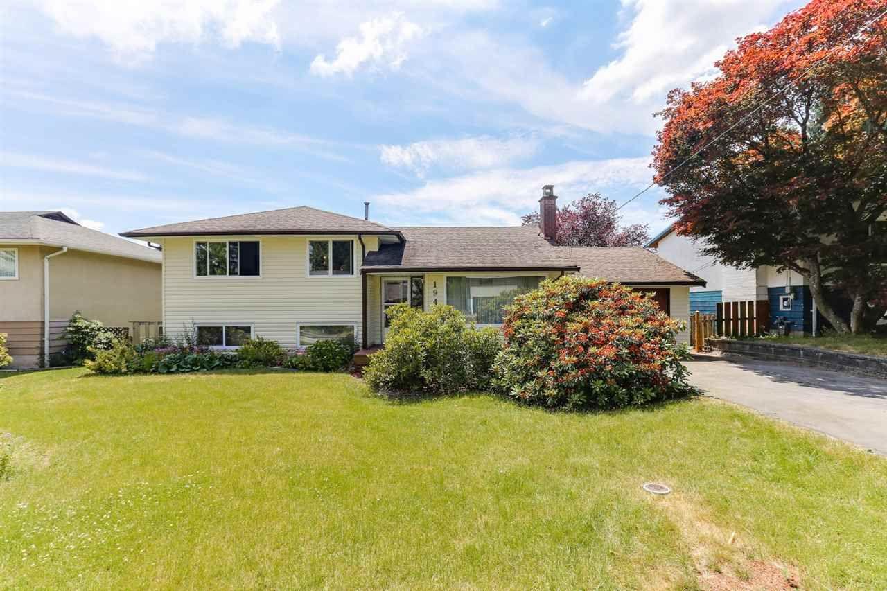 Main Photo: 1940 REGAN Avenue in Coquitlam: Central Coquitlam House for sale : MLS®# R2383854