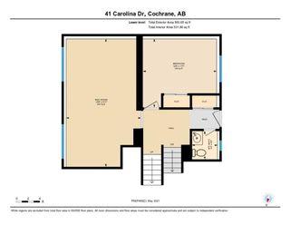Photo 46: 41 Carolina Drive: Cochrane Detached for sale : MLS®# A1126382