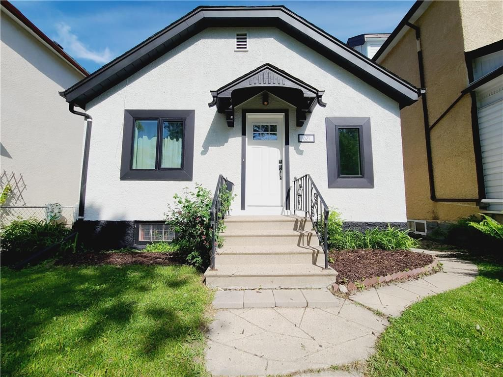 Main Photo: 621 Agnes Street in Winnipeg: West End Residential for sale (5A)  : MLS®# 202112301