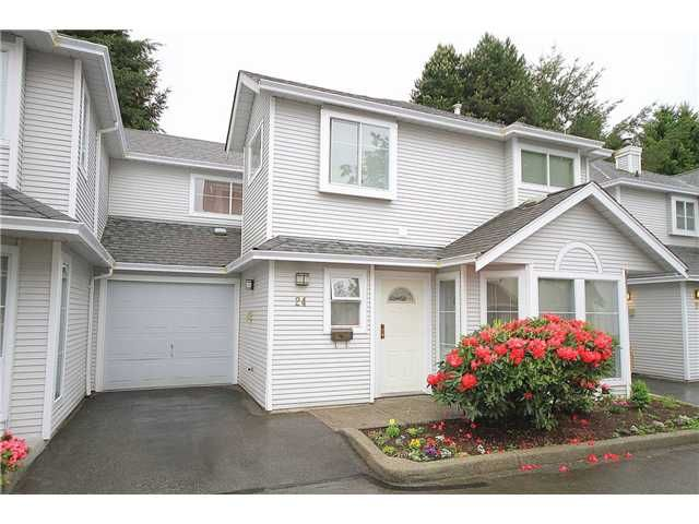 """Main Photo: # 24 18951 FORD RD in Pitt Meadows: Central Meadows Townhouse for sale in """"PINE MEADOWS"""" : MLS®# V1007399"""