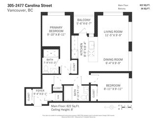 "Photo 20: 305 2477 CAROLINA Street in Vancouver: Mount Pleasant VE Condo for sale in ""Midtown"" (Vancouver East)  : MLS®# R2561917"