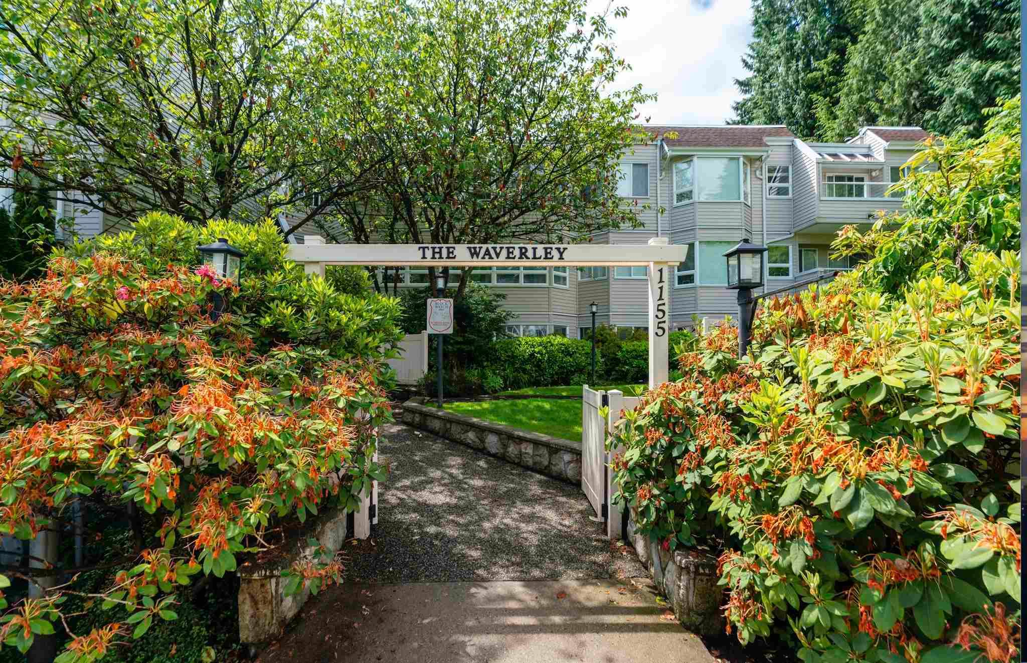 """Main Photo: 309 1155 ROSS Road in North Vancouver: Lynn Valley Condo for sale in """"THE WAVERLEY"""" : MLS®# R2594505"""