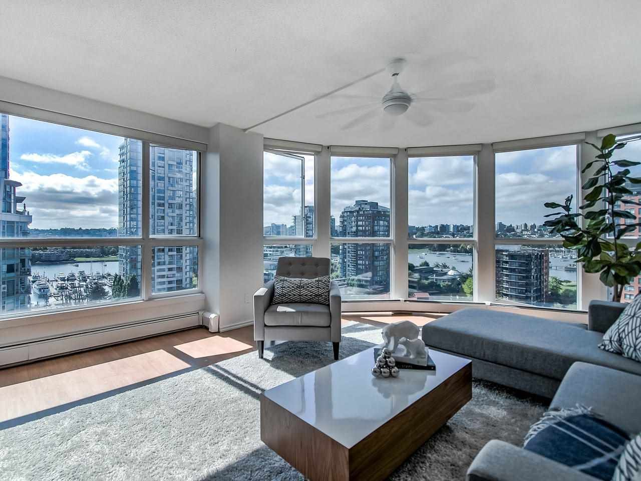 Main Photo: 1305 283 DAVIE STREET in Vancouver: Yaletown Condo for sale (Vancouver West)  : MLS®# R2491218