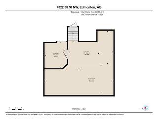 Photo 50: 4322 38 Street in Edmonton: Zone 29 House for sale : MLS®# E4255616