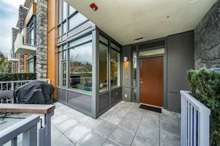 """Photo 1: 103 680 SEYLYNN Crescent in North Vancouver: Lynnmour Townhouse for sale in """"Compass at Seylynn Village"""" : MLS®# R2449318"""