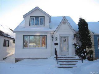 Photo 1: 122 Cobourg Avenue in Winnipeg: Residential for sale (3C)  : MLS®# 1700397