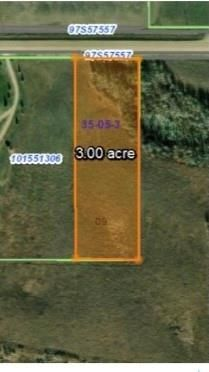 Main Photo: Victor Rd 3 Acres in Corman Park: Lot/Land for sale (Corman Park Rm No. 344)  : MLS®# SK859902
