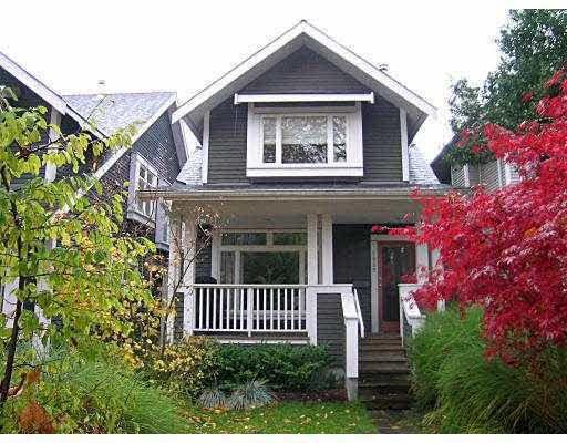 Main Photo: 1969 KITCHENER STREET in : Grandview Woodland 1/2 Duplex for sale : MLS®# V741934