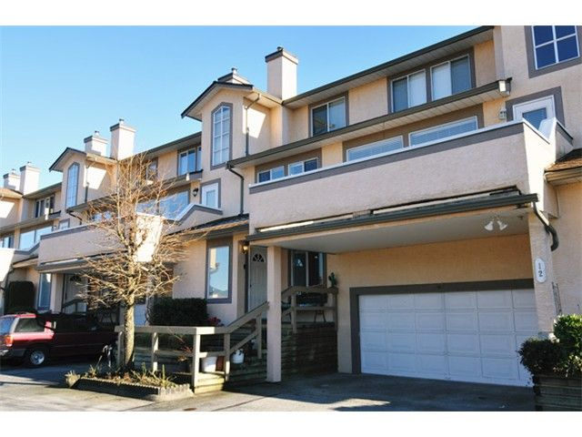 """Main Photo: 13 1238 EASTERN Drive in Port Coquitlam: Citadel PQ Townhouse for sale in """"PARKVIEW RIDGE"""" : MLS®# V1045328"""