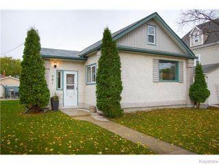 Photo 1: 381 Kingsbury Avenue in Winnipeg: West Kildonan Residential for sale (4D)  : MLS®# 1627629