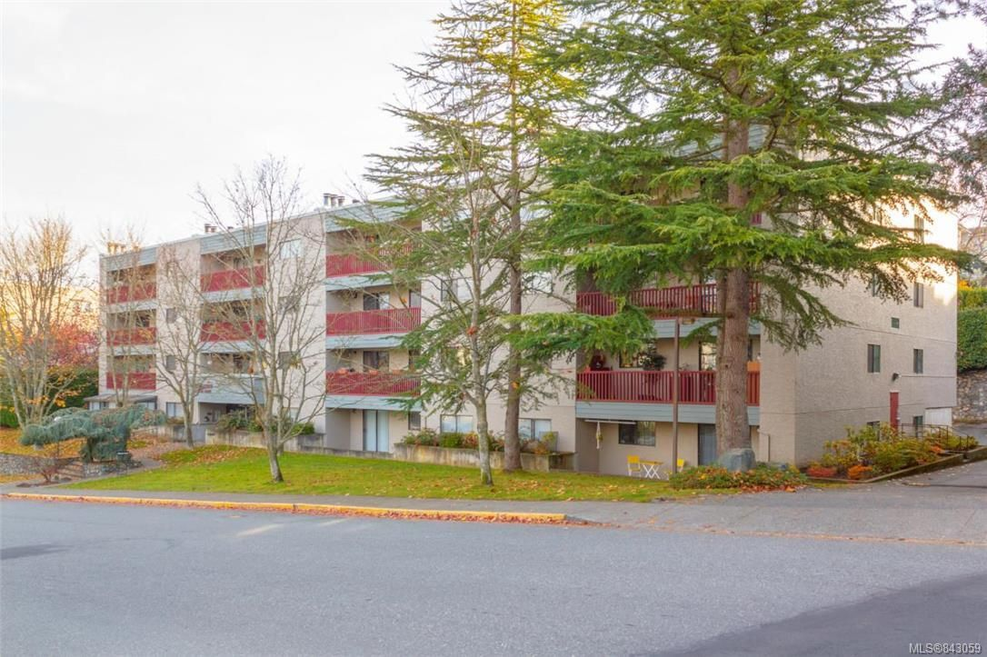 Main Photo: 413 3255 Glasgow Ave in Saanich: SE Quadra Condo for sale (Saanich East)  : MLS®# 843059