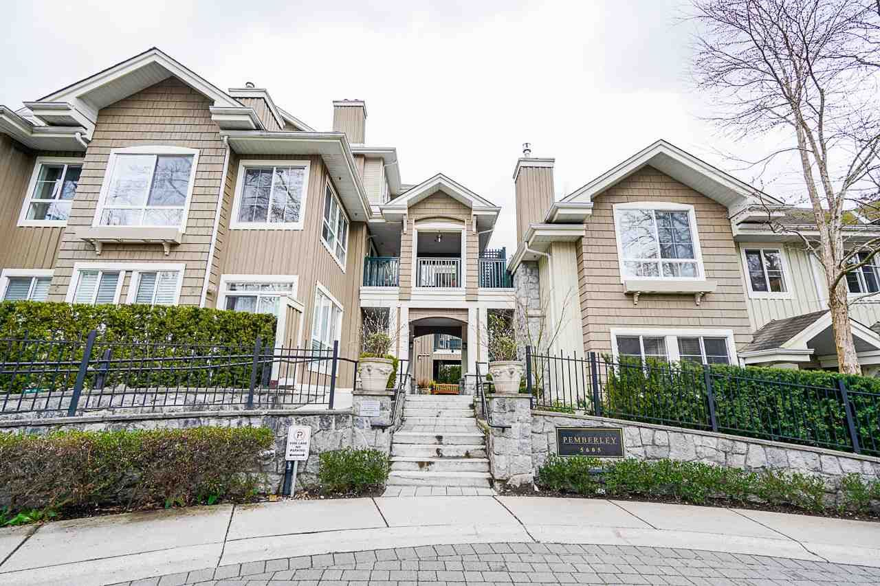 "Main Photo: 107 5605 HAMPTON Place in Vancouver: University VW Condo for sale in ""The Pemberley"" (Vancouver West)  : MLS®# R2555239"