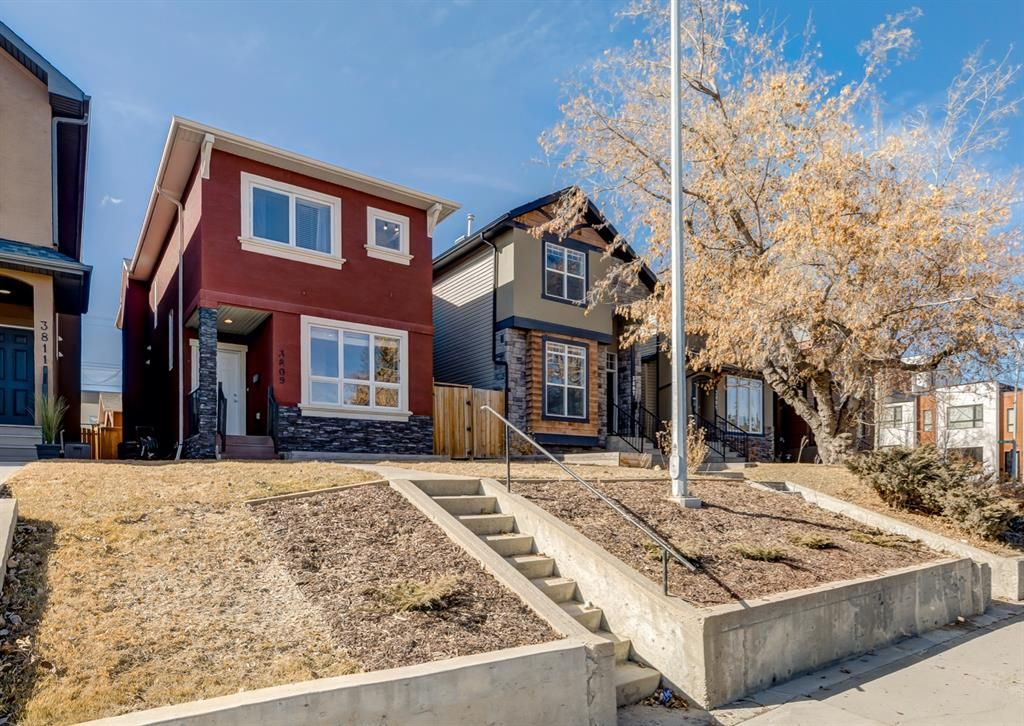 Perched back from the road this home is ideally located just steps to River Park in desirable Altadore.