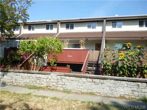 Main Photo: 9 954 Queens Ave in VICTORIA: Vi Central Park Row/Townhouse for sale (Victoria)  : MLS®# 635707