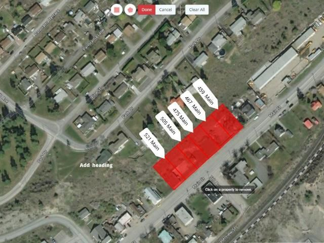 Main Photo: 505 MAIN STREET: Lillooet Land Only for sale (South West)  : MLS®# 161281