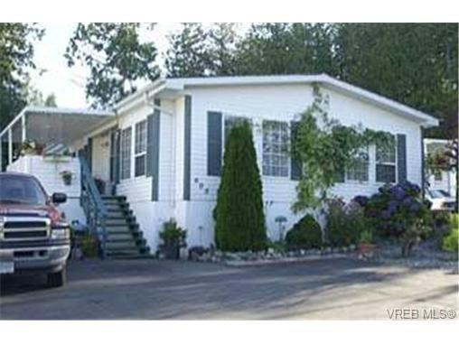 Main Photo: 605 2850 Stautw Rd in SAANICHTON: CS Hawthorne Manufactured Home for sale (Central Saanich)  : MLS®# 318274