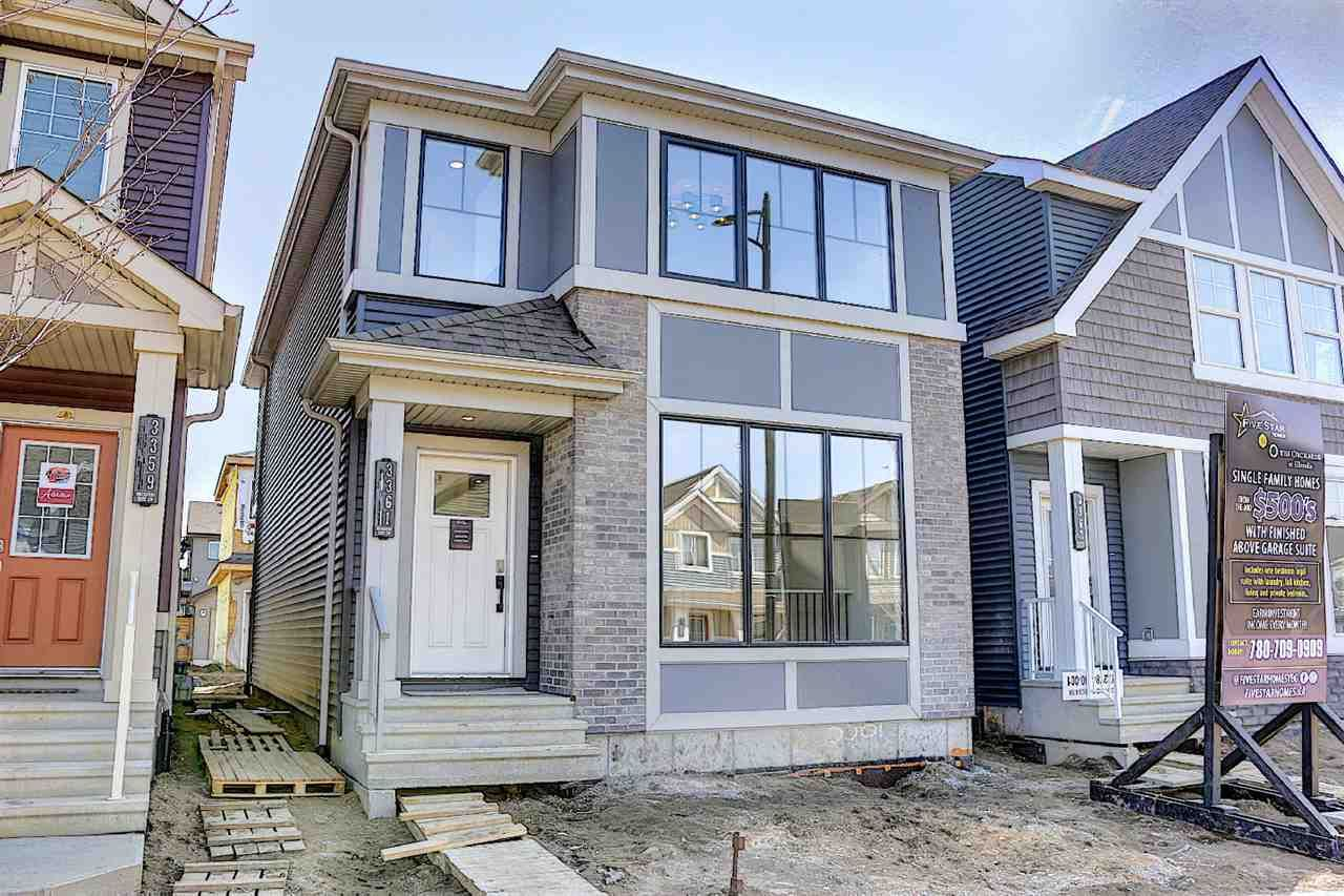 Main Photo: 3361 Orchards Link in Edmonton: Zone 53 House for sale : MLS®# E4225108