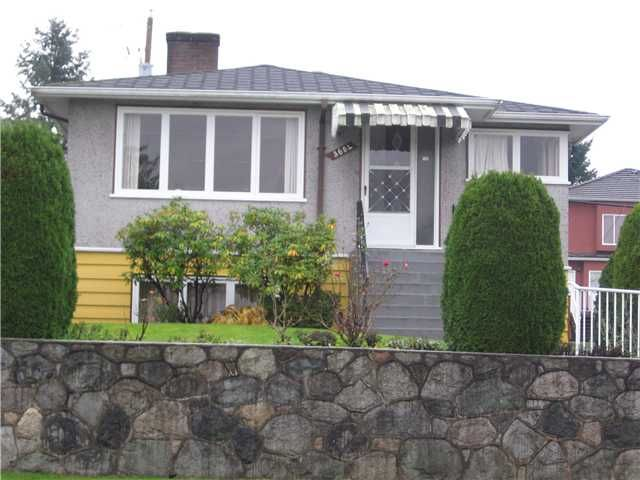 Main Photo: 3604 E 28TH Avenue in Vancouver: Renfrew Heights House for sale (Vancouver East)  : MLS®# V919786