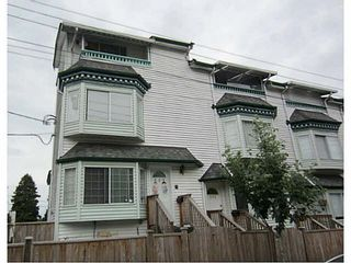 Photo 1: 335 Garden Drive in Vancouver: Hastings Townhouse for sale (Vancouver East)  : MLS®# V1128535