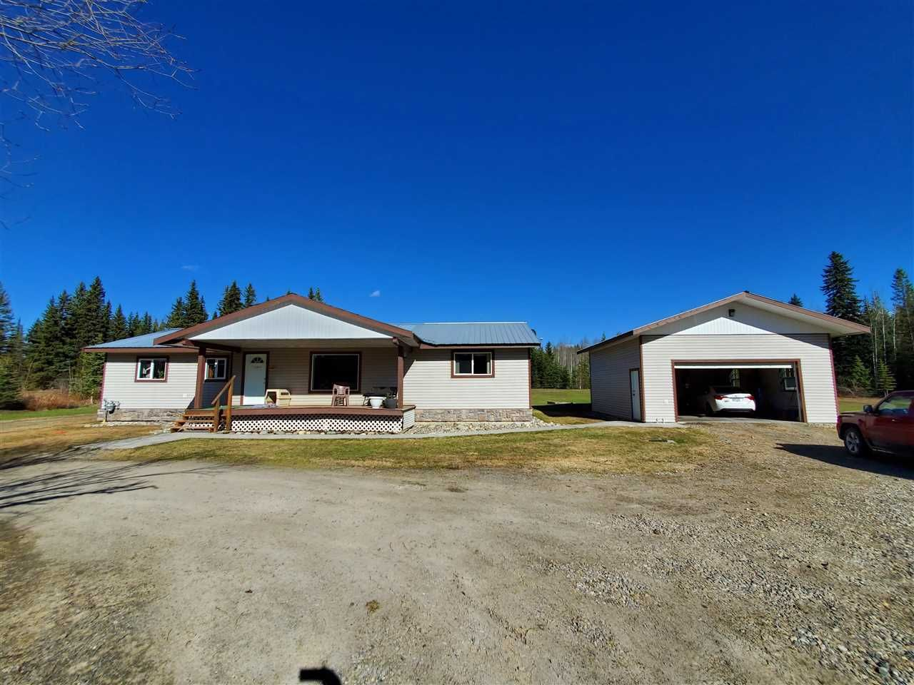 Main Photo: 4984 POLLARD Road in Quesnel: Quesnel - Rural North House for sale (Quesnel (Zone 28))  : MLS®# R2573205
