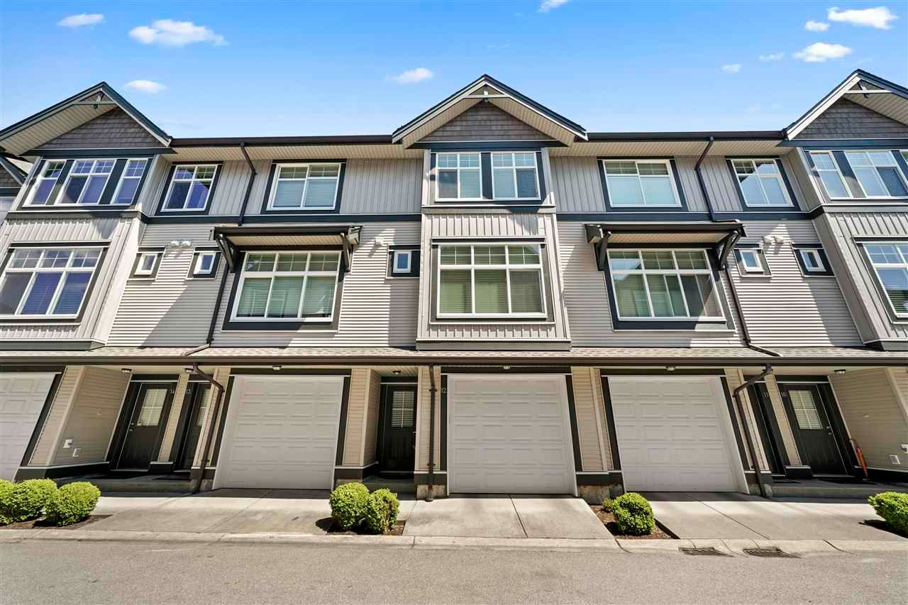 """Main Photo: 12 7332 194A Street in Surrey: Clayton Townhouse for sale in """"Uptown Clayton"""" (Cloverdale)  : MLS®# R2581418"""
