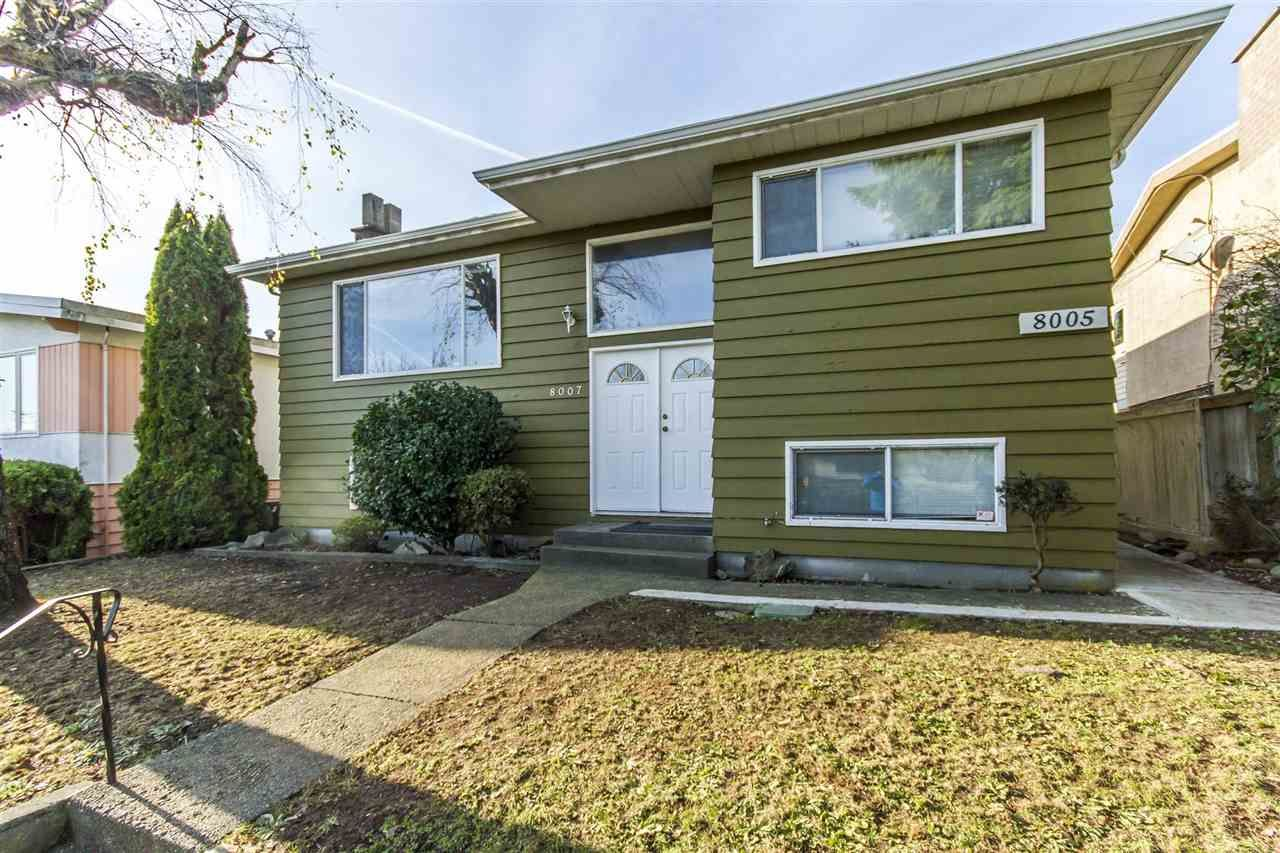 Main Photo: 8007 ELLIOTT Street in Vancouver: Fraserview VE House for sale (Vancouver East)  : MLS®# R2522410
