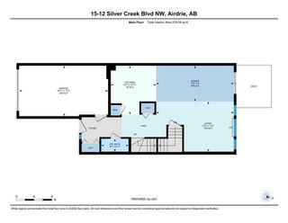 Photo 31: 15 12 Silver Creek Boulevard NW: Airdrie Row/Townhouse for sale : MLS®# A1090078